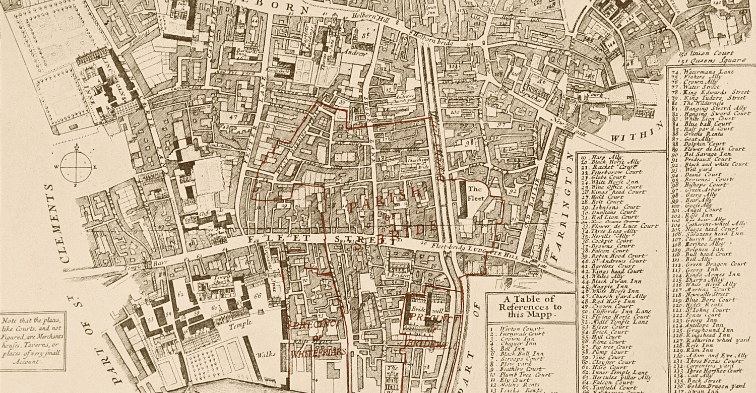 Ward Of Farringdon Without, Stow's Survey (1755)