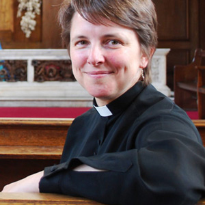 The Revd Dr Lucy Winkett, Rector of St James's Piccadilly