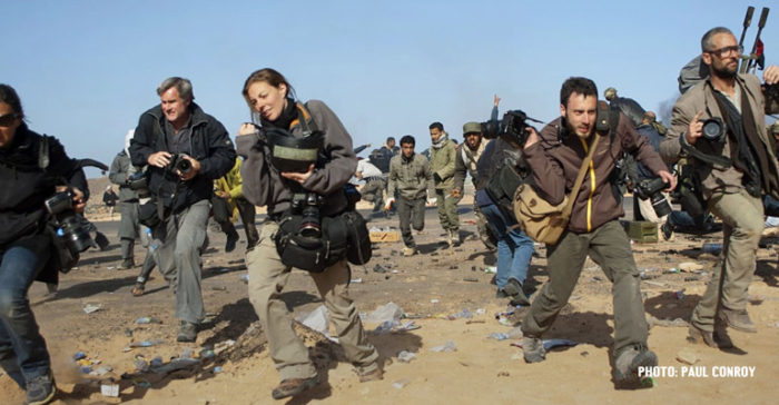 Photojournalists running from trouble in Syria - Paul Conroy